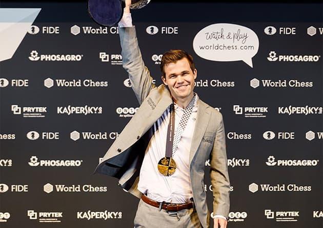 Победитель чемпионата - Магнус Карлсен